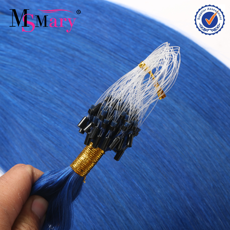 wholesale 100% remy brazilian 0.5g 0.7g 1g per piece micro ring cheap hair extensions