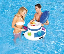 Bestway 43117 inflatable floating cooler pool float cooler