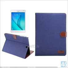 New wholesale colorful high quality stand leather case for Samsung Galaxy tab S2 8inch