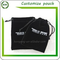 Hongway Good quality small velvet jewelry bags / ring bag