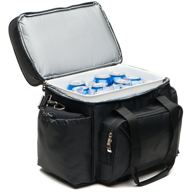 Custom eco friendly peva lining cooler beer can insulated cooler bag with removable box