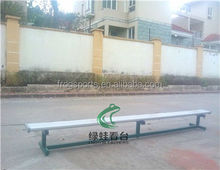 Cheap movable bench for sale soccer bench bleacher chair