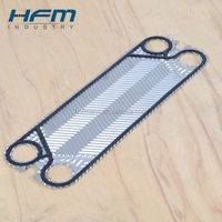 Plate Heat Exchanger Structure, PHE plate with gasket for alfa laval