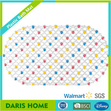 Colorful Round Point Anti Slip Shower Mat PVC Grade A Massage Non Slip Safety Tube Home Bathroom Mat