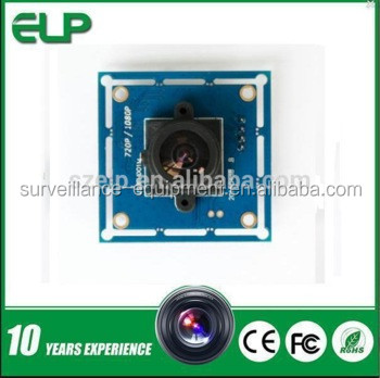 YUY2 and MJPEG 720P CMOS mini usb camera module for machine vision systems ELP-USB100W03M-L36