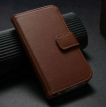 hot selling wallet leather case for iphone 4 4s, for iphone 4 leather case, flip cover for iphone 4