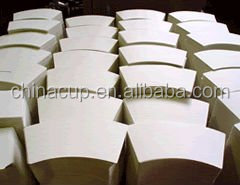Rainbow paper fan/paper sheet/cup paper pe paper for paper cup
