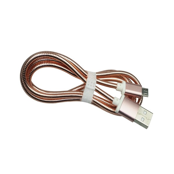 Guangzhou micro USB cable Factory metal spring cable for iphone charging cable mfi