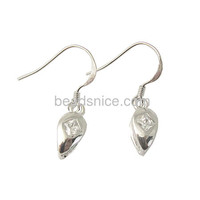 Beadsnice 925 Silver Earrings With Zircon