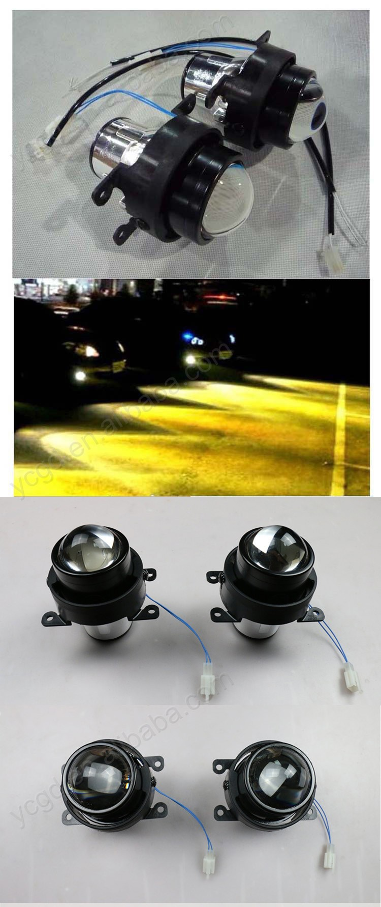 wholesaler price h1 h3 h4 h7 h8 h10 9005 9006 9007 hid projector lens