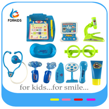 Kids pretend and play doctor toy set,plastic medical doctor toy kit for pretend play
