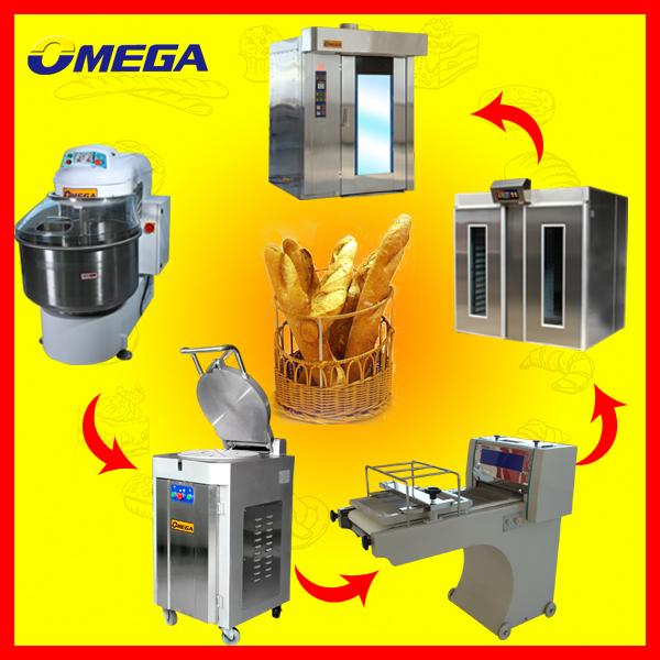 OMEGA bread,cake, pastry and bakery equipment prices(Manufacturer CE &ISO9001)