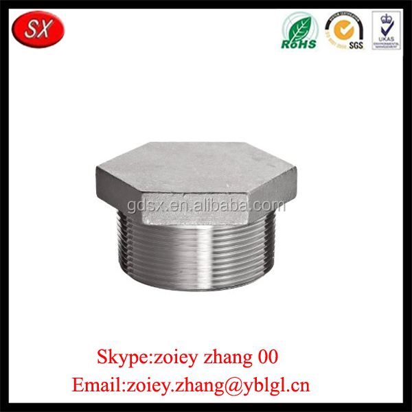 Make In China Custom Cheap Hex Head Plug Forged Steel Pipe Fitting