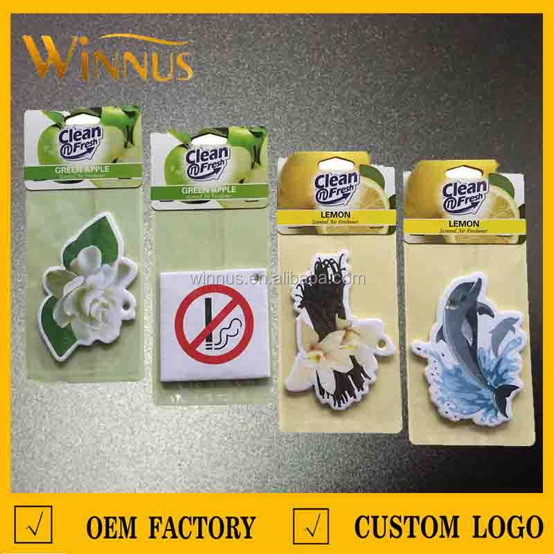 green tea scent air fresheners for promotional gift