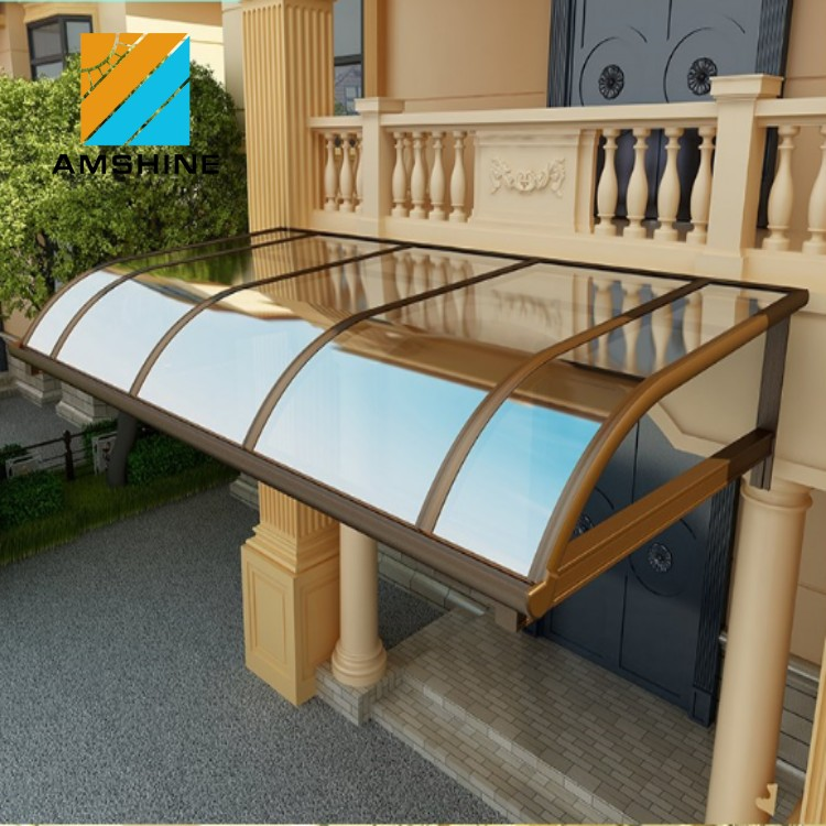 fixed small window awning canopy waterproof door awning