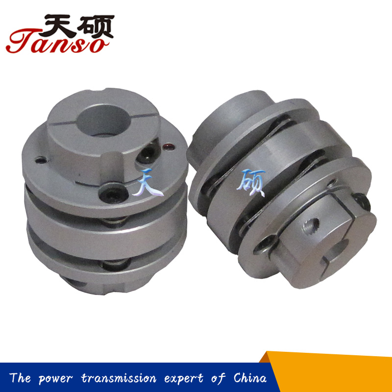 Aluminum Hubs and Stainless Steel Discs, Complete Coupling TS3FD mini disc/flange coupling for general machinery in China