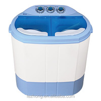 2.5kg twin tub portable mini washing machine