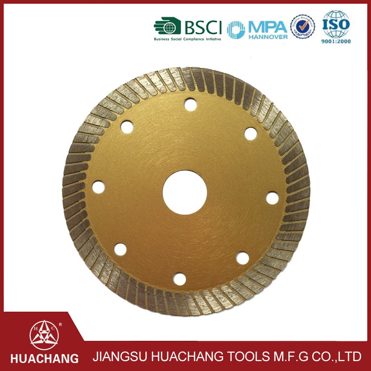 Brand new tile saw blades manufactured in China