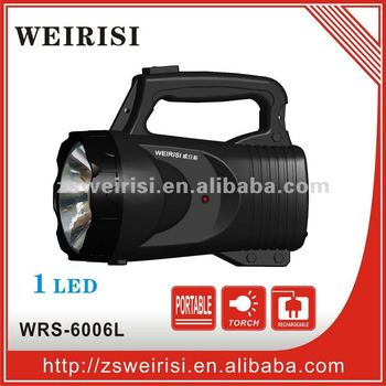 Rechargeable LED Flashlight (WRS-6006L)