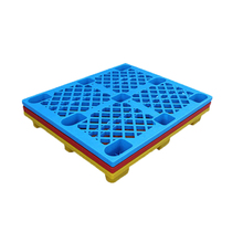 cheap one way 9 feets HDPE disposable plastic pallet
