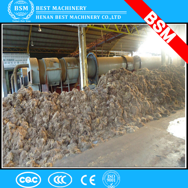 Thailand widely used high efficiency industry palm fiber biomass rotary drum dryer