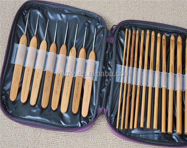 Crochet Hooks Knitting Weave Needles Set with Case