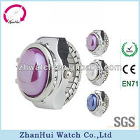 2013 digital watch ring jewelry gems finger watch lady assorted colors