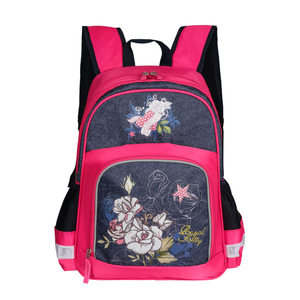 2018 Primary china supplier embroidered kinds cute school backpack kid cute  backpacks for girls 7b4e5f6770