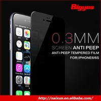 Cartoon tempered glass screen protector for iphone 5