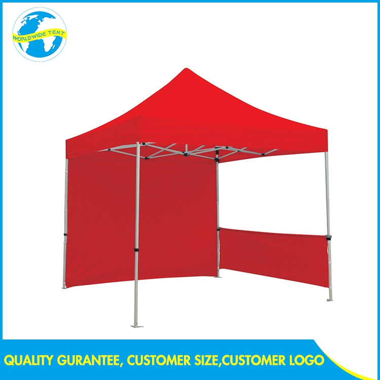 Advertise Aluminum Fiberglass Large Exhibition Commercial 10x10 Foldable Canopy