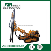 gold mining drilling rig blasting hole hard rock drilling rig