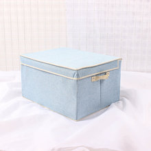 Office/Living room/home Large Linen Fabric storage box Foldable storage Cubes Bin Box Containers