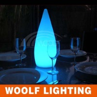 Restaurant Rechargeable LED Dinner Table Decorative Light