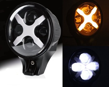 6 Inch Round LED Work Light LED Auxiliary Driving Lamp for Truck SUV Jeep