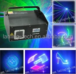 1W RGB 10kpps 3-in-1 3D ILDA Animation Laser Light