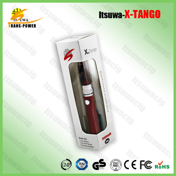 Promotional itsuwa new patent original 3ml 1500mah X-Tango rebuildable cloud pen dry herb atomizer