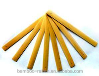 Width within 2.3cm, thickness within0.7cm, length Unlimited multi-style handmade bamboo chips & bamboo strips.