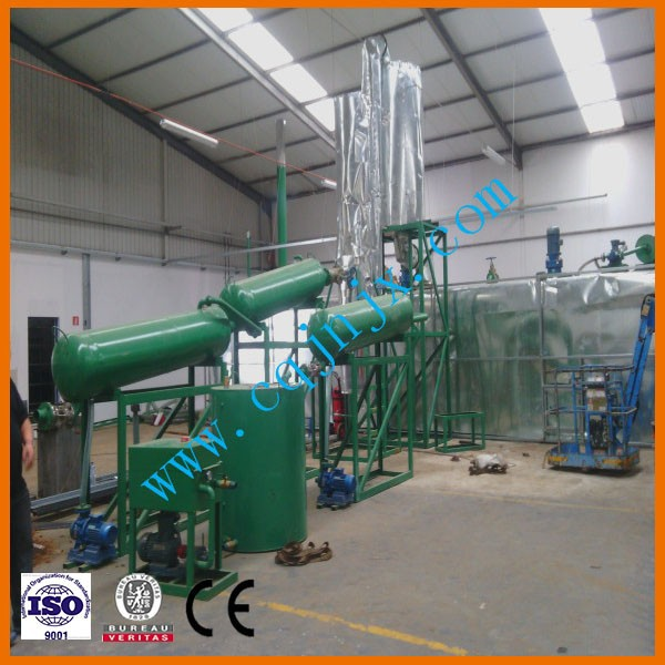 High yield truck oil refinery to get diesel oil without emission! China JNC used car oil distiller