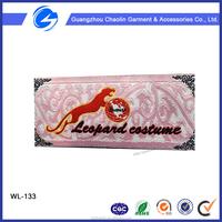 China factory customized cheap price hot sale clothing woven labels