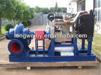 Large flow Diesel engine driven dewatering Pump (China supplier)