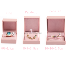 Jewelry Set Packaging Velvet Insert Inside Antique Jewelry Box