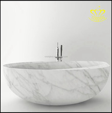 Cheap Price Custom Sizes White Marble Stone Bathtub