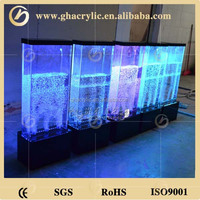 Buy Led acrylic water bubble wall lights led wall mounted aquarium ...