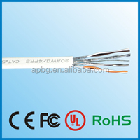 high quality stranded jumper wire 0.5mm cat5e lan cable