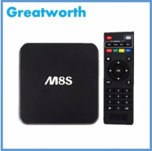 New M8S Android Smart TV Box M8S Amlogic S812 2G/8G XBMC Dual band wifi Full HD Android 4.4 Media Player M8 TV Box US/EU/UK Plug