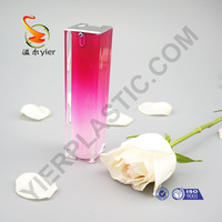 Arcylic Material and Screen Printing Surface Handling cosmetics bottle