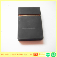 2014 JK-12-69 High quality Silicone Cigarette Case,cigarette case with lighter windproof lighter