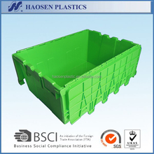 Cheap Plastic turnover box plastic totes with lids