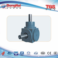 Competitive factory price T Series 90 Degree shaft Spiral Bevel direction changing gearbox