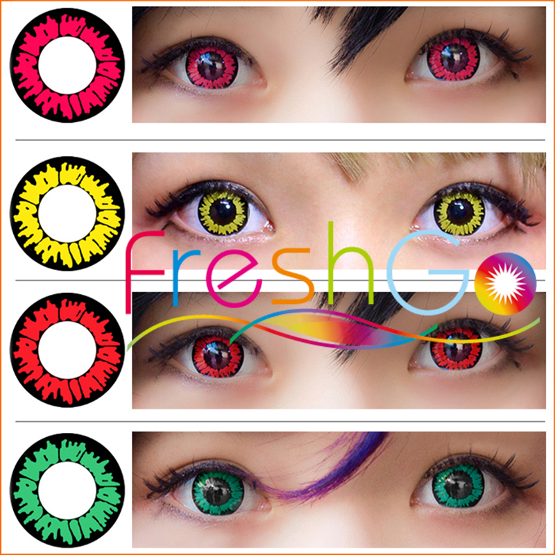 Lovelive Dream Color Contact Lenses Bella Monthly Eye Crazy Color Eye Lens